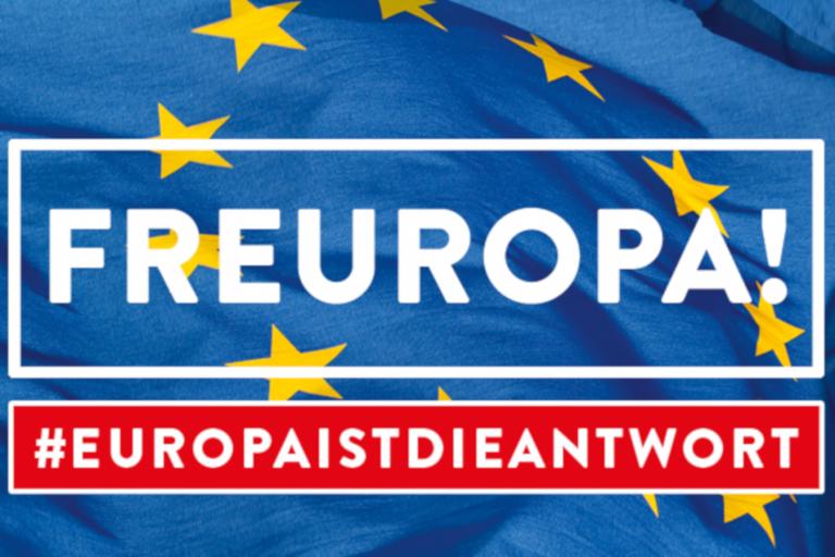 Hingehen: Am 26.05.2019 ist Europawahl!