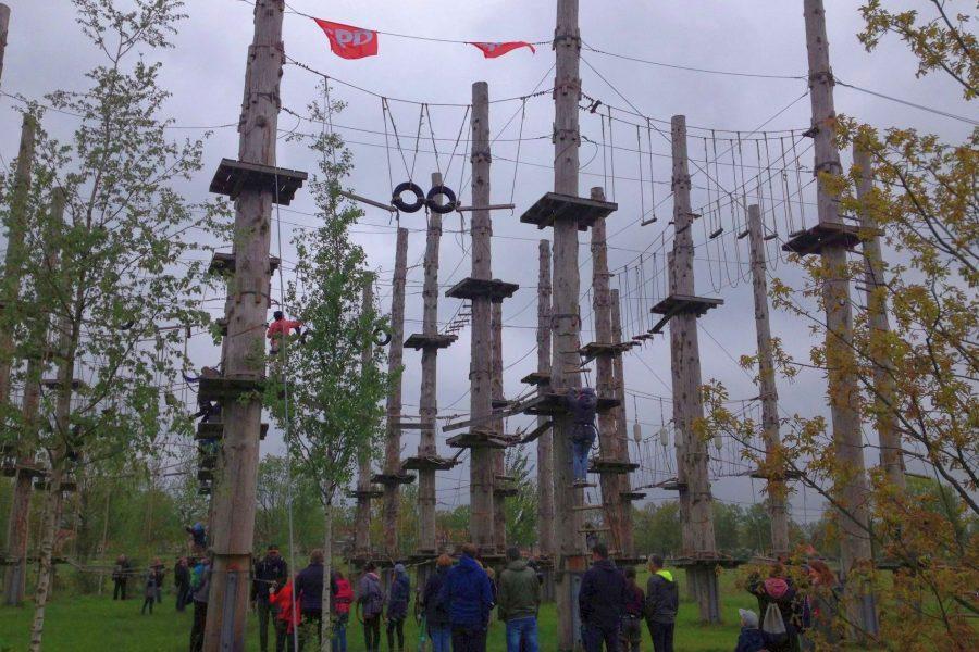 1. Mai 2019: Kostenloses Klettern im Hochseilgarten des Stadtparks