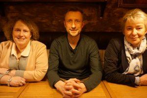 Katrin Fedrowitz, Philipp Notz, Martina Schenkewitz