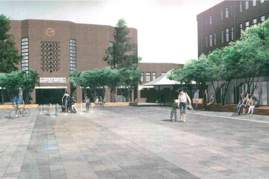 Entwurf Rathausplatz aus 2016