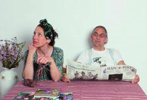 Kabarettduo aus Franken: Edgar und Irmi