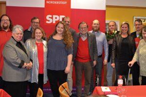 Weihnachtsfeier 2019 der Norderstedter SPD mit Ehrungen für langjährige Mitgliedschaft