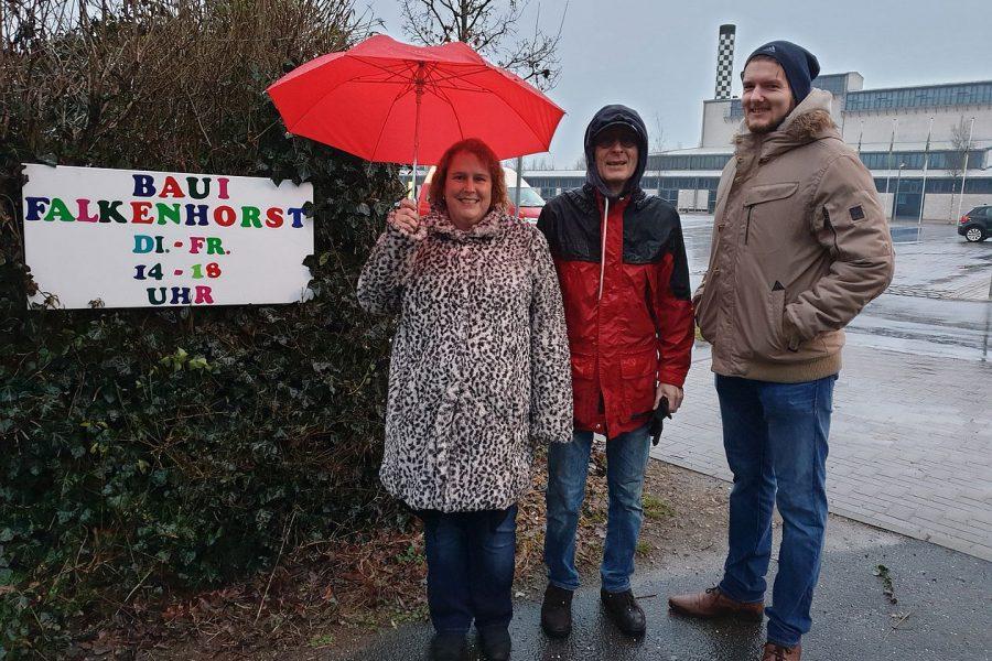 Freud und Leid der Anwohner rund um den Stadtpark: SPD-Mitglieder informieren sich vor Ort