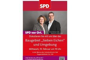 """Neubaugebiet """"Sieben Eichen"""" und Umgebung - Einladung zum Bürgergespräch in Glashütte"""