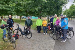 Velorouten und andere Radwege - Fahrradtour der SPD Norderstedt